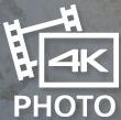 Particolari ricchi di dettagli con video 4K