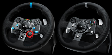 G29 ve G920 Driving Force Yarış Direksiyonları için tasarlanmıştır