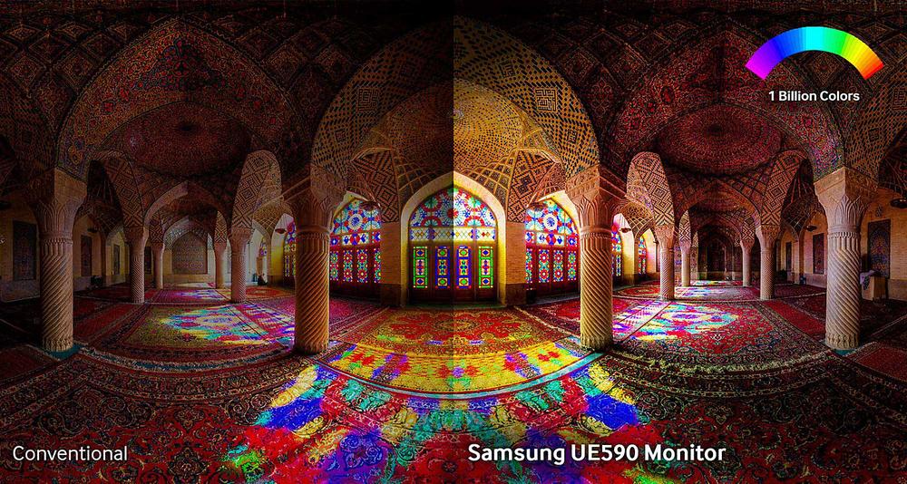 Jilet gibi keskin çözünürlük ve milyarlarca renk ile benzerine rastlanmamış görüntü kalitesini deneyimleyin.