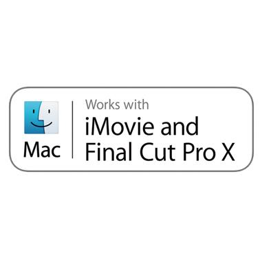 Compatibile con iMovie e Final Cut Pro X