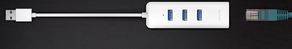 Bu alet ayrıca bir Gigabit Ethernet Adaptörüdür