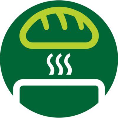 Çörekleri, poğaçaları veya sandviç ekmeklerini ısıtmak için entegre çörek rafı
