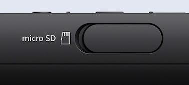 Micro SD kart yuvasıyla belleğinizi genişletin
