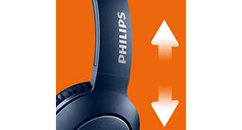 Optimum konfor için ayarlanabilir kulaklık modülleri ve baş bandı