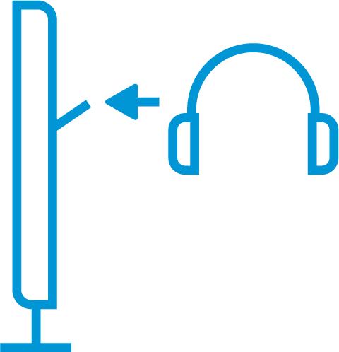Sabit kulaklık askısı