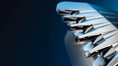 2 kat daha fazla bıçakla maksimum hassasiyet için DualCut teknolojisi