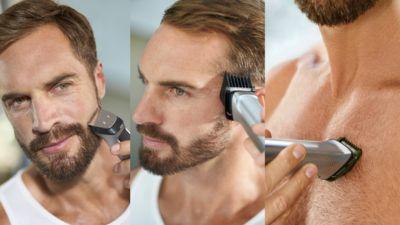 12 aparatla saçlarınız, yüzünüz ve vücudunuzdaki kılları düzeltin ve şekillendirin