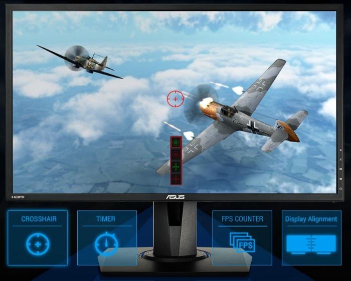 ASUS'a özel GamePlus teknolojisi