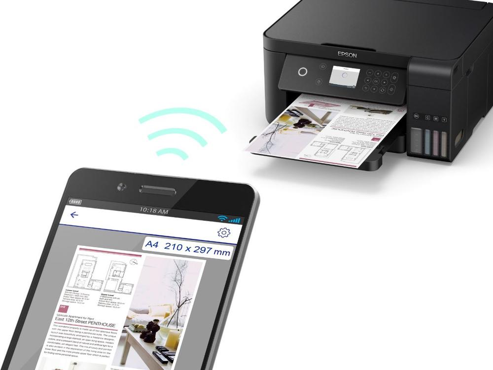 Possibilità di stampare ovunque