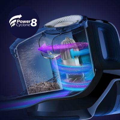 PowerCyclone 8: Torbasız süpürgedeki en üstün teknolojimiz