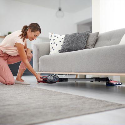 Alçak mobilyaların altına bile hızlıca ulaşın