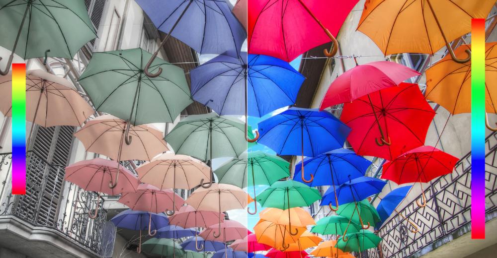 Hayatın parlaklığı ekstra renklerle yansıtılıyor