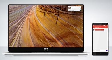 Connessione dei dispositivi con Dell Mobile Connect
