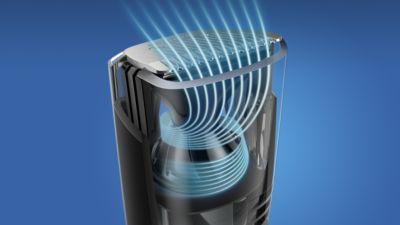 Etrafı kirletmeden düzeltme işlemi gerçekleştirmek için optimize edilmiş hava akışı