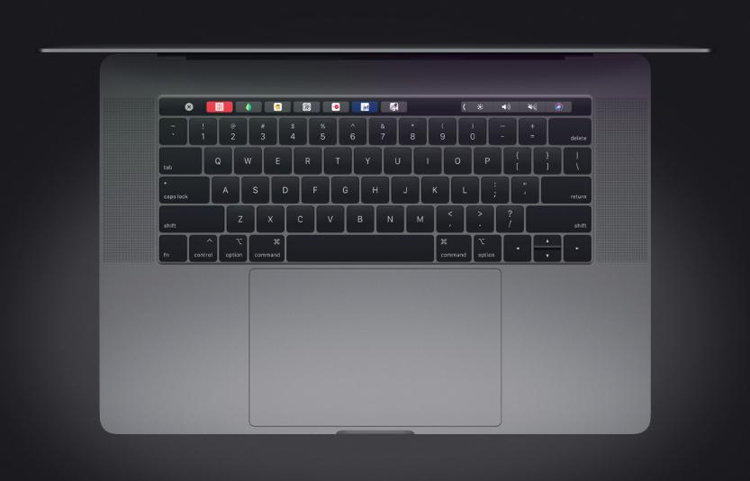 Klavye ve Trackpad. Şimdi bir tık daha sessiz.
