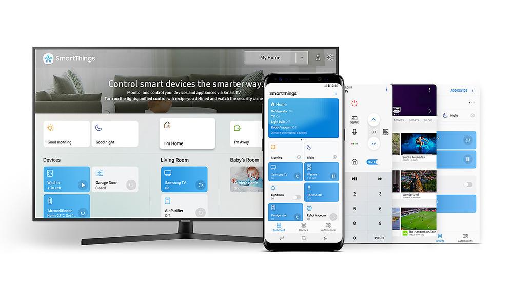 SmartThings, una sola applicazione per qualsiasi esigenza