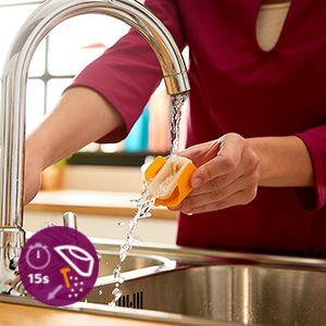 Ütünüzün kolay temizlenmesi için hızlı kireç çözme sistemi