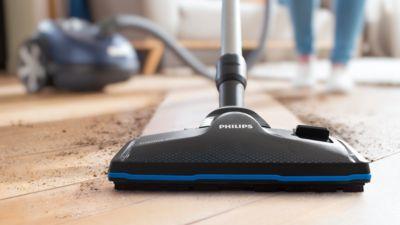 TriActive Pro başlık, daha derinlemesine bir temizlik için en ince tozları çeker