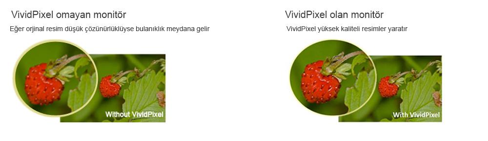 En İyi Görüntü Kalitesi için VividPixel Teknolojisi