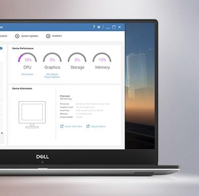 Migliora la produttività con Dell Precision Optimizer