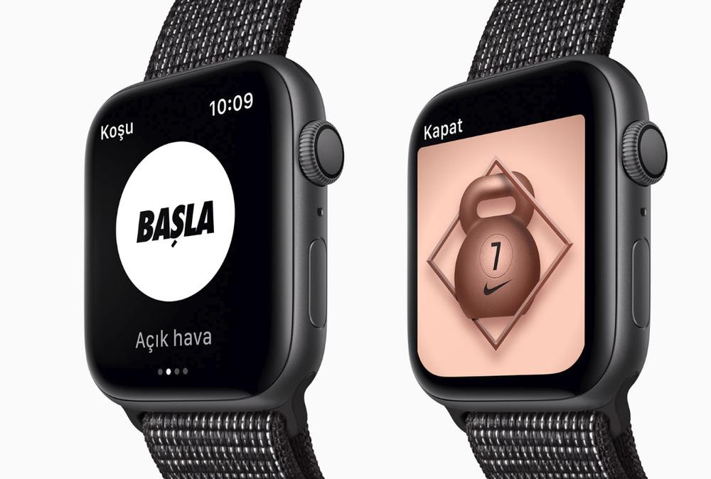 Apple Watch Nike+. Spora gönülden bağlı.