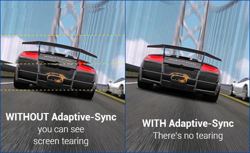 Akıcı oyunlar için Adaptive-Sync teknolojisi