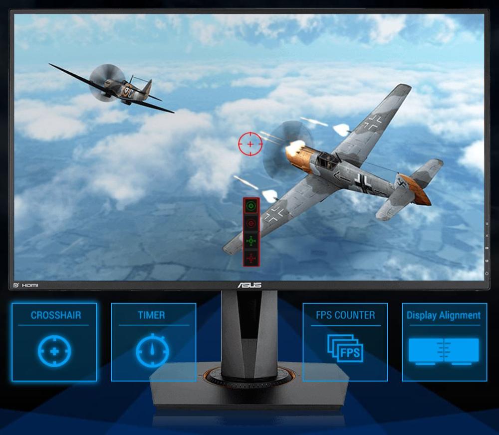 ASUS'a özgü GamePlus teknolojisi