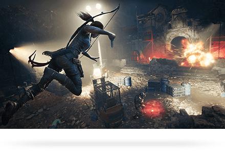 Lara'nın şimdiye kadarki en büyük macerasında ormanda mücadele edin