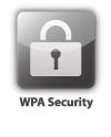 Hızlı ve kolay kablosuz güvenli kurulum için WPS
