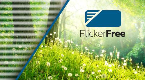 Flicker-free teknolojisi