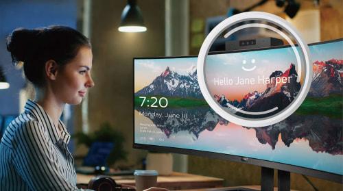 Webcam pop-up dotata di Windows Hello™