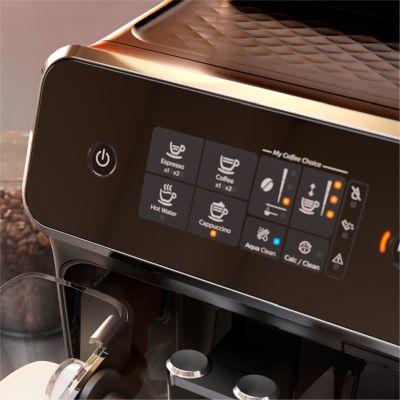 Sezgisel dokunmatik ekran ile kahvenizi kolayca seçin