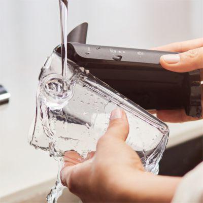 LatteGo'nun temizliği olağanüstü kolaydır: 2 parça, boru yok