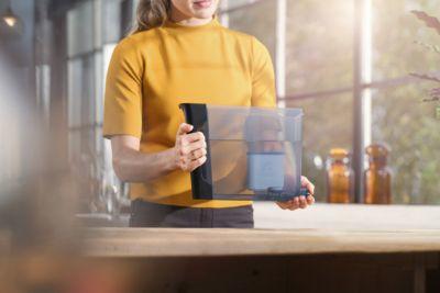 AquaClean sayesinde kireç temizlemeye gerek kalmadan 5000 bardağa kadar kahve demleyin*