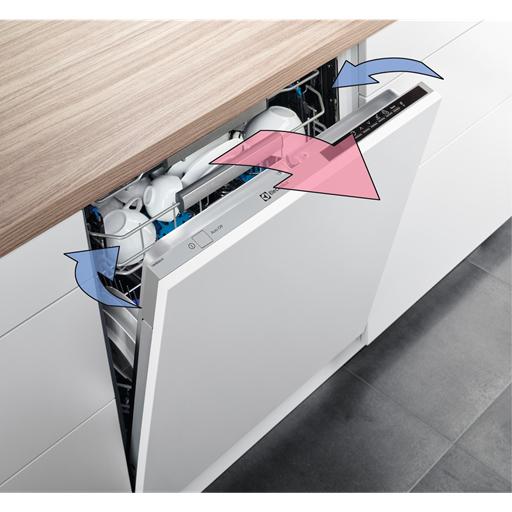 AirDry kurutma teknolojisi, otomatik açılan kapı ile mükemmel kurutma