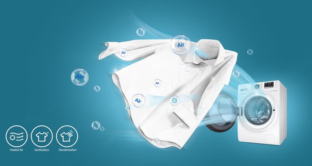Air Wash / Hava ile Yıkama (Koku Giderme)