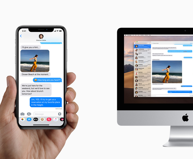 iMac ve iPhone