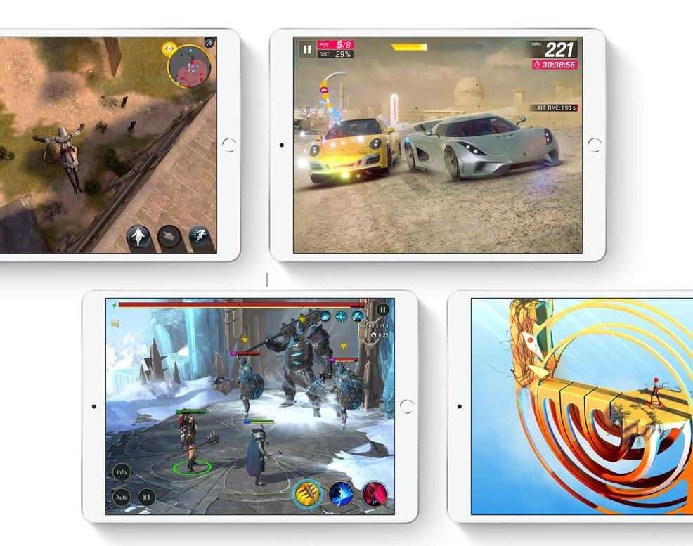 Oyunlar ve uygulamalar için ışık hızında grafikler.