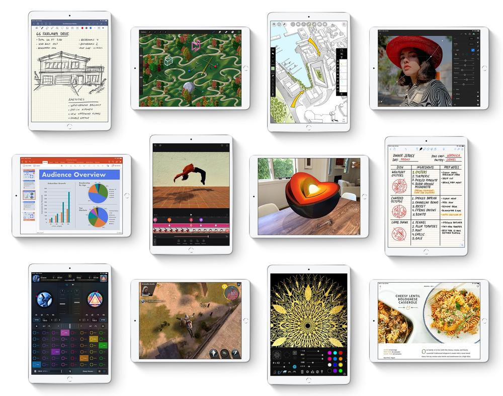 iPad için tasarlanmış bir milyondan fazla uygulama App Store'da.