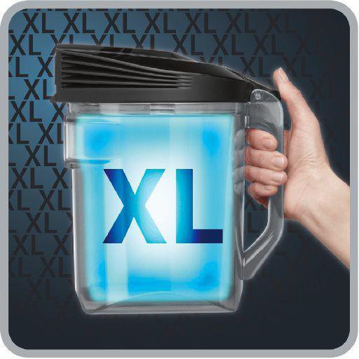 XL Kapasite 2,5 L