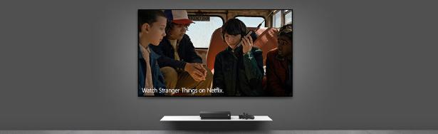 Xbox One, 4K Blu-ray™ oynatıcı ve 4K video akışı içeren tek konsoldur