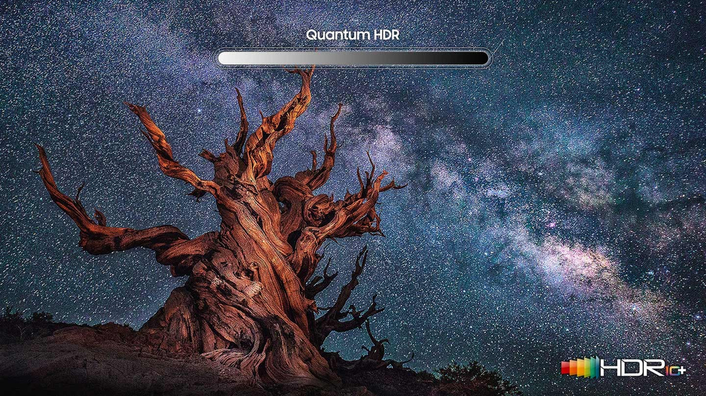 Parlak QLED ile inanılmaz HDR kalitesi