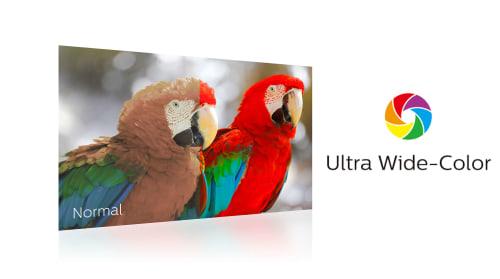 Ultra Geniş Renk Teknolojisi