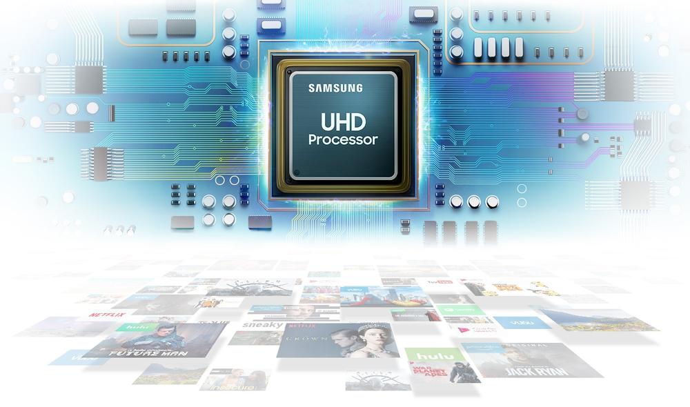 UHD İşlemci ile üstün görüntü kalitesi