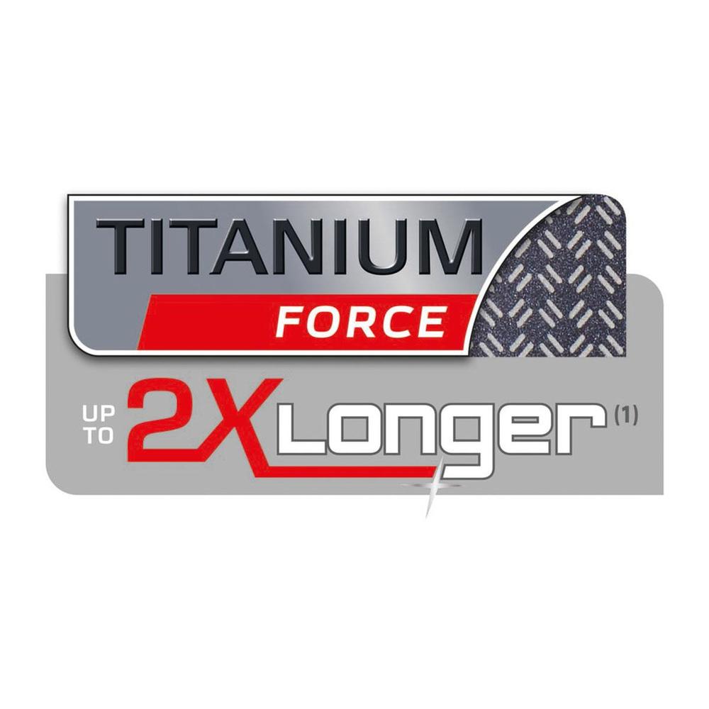 TITANIUM FORCE Yapışmaz Kaplama: 2 Kata Kadar Daha Uzun Süre* Dayanıklı