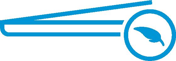 Schlankes Design