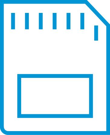 Lettore di schede di memoria SD e microSD