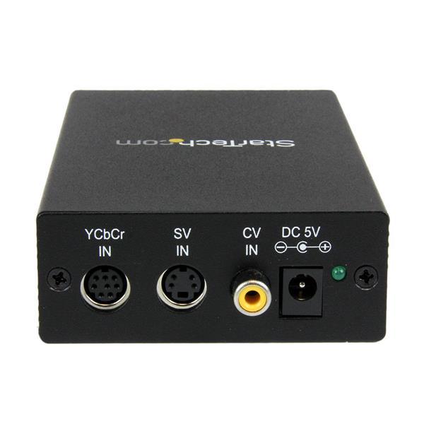 StarTech.com Convertitore video composito e S-Video a VGA