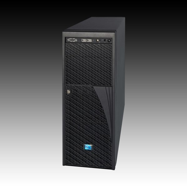 Intel P4308XXMHJC Portabagagli 1200W Nero vane portacomputer