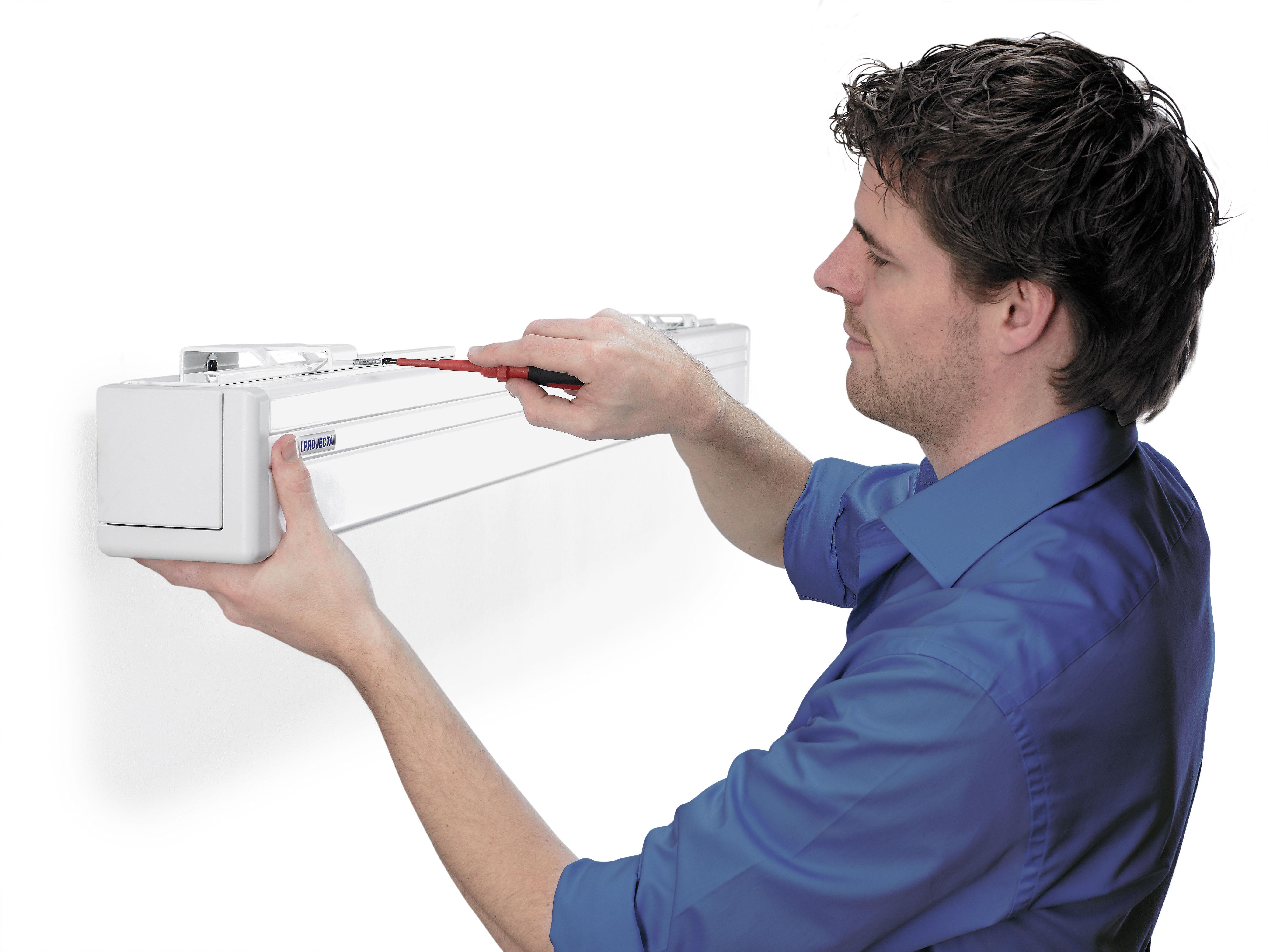 """Projecta Compact Electrol 138x180 Matte White S 84"""" 4:3 schermo per proiettore"""